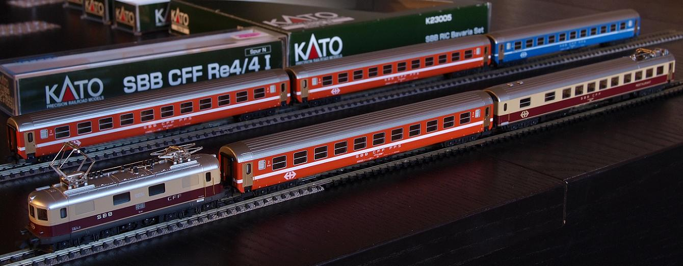 kAto SBB TEE re 4/4 I bavaria set